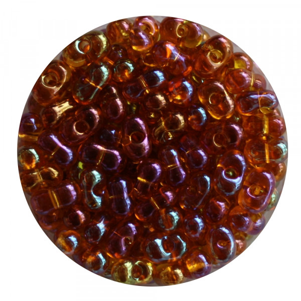 Farfalle, Rainbow AB, 6,5mm, 17gr Dose, dunkeltopas