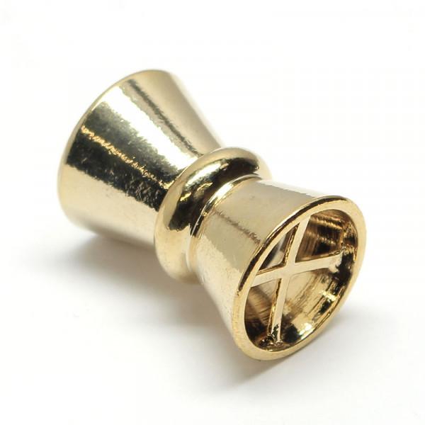Magnetverschluss, 14x21 mm, goldfarben