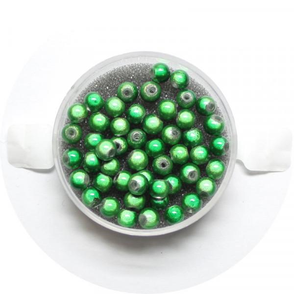 Miracle-Beads Glasperlen, 50 Stck., 4mm, grün