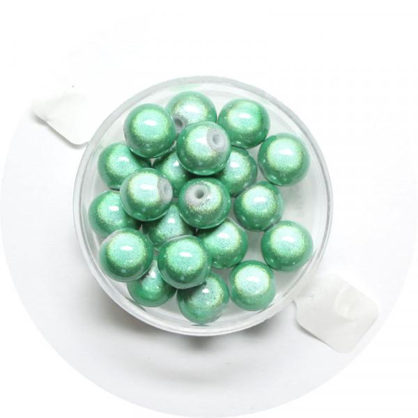 Miracle-Beads Glasperlen, 20 Stck., 8mm, lindgrün
