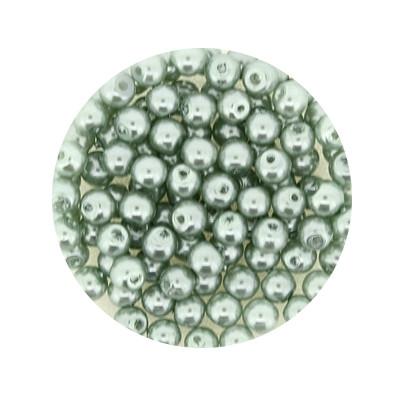 Pearl Renaissance, 4mm, 100 Stück, türkis