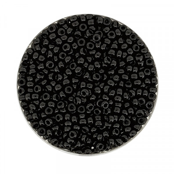 Miyuki Rocailles 2,2 mm - black