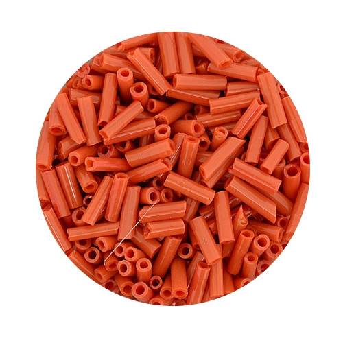 Glasstift, Satt, 6 mm, 17gr. Dose, orange