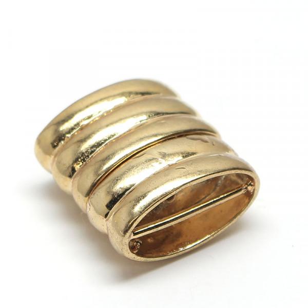 Magnetverschluss, 18x18 mm, goldfarben