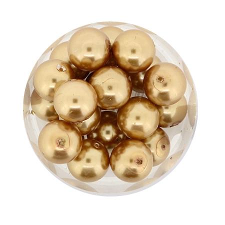 Pearl Renaissance, 10mm, 20 Stück, braun