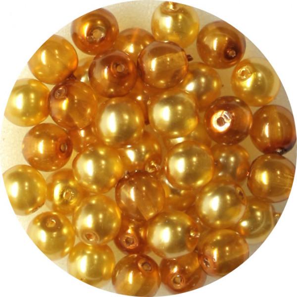 Crystal Pearl Renaissance, 6mm, 40 Stück, topas-ton