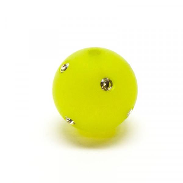 Polaris Strassperlen, 10mm, kiwi