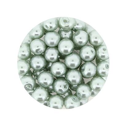 Pearl Renaissance, 6mm, 55 Stück, türkis