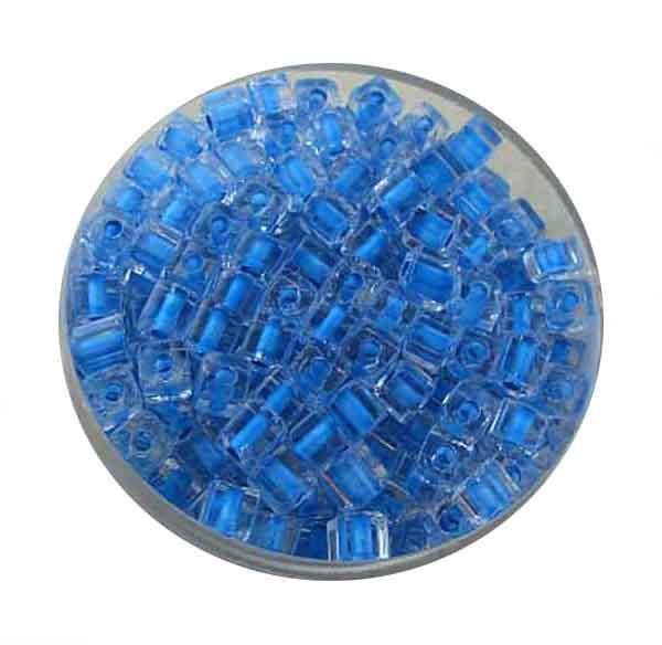Glaswürfel Perlen - Farbeinzug