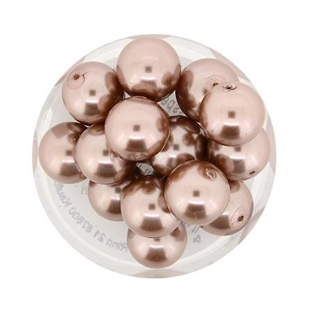 Pearl Renaissance, 10mm, 20 Stück, hellbraunbeige