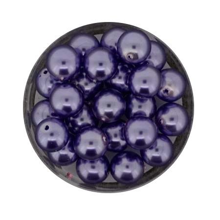 Pearl Renaissance, 8mm, 25 Stück, lila