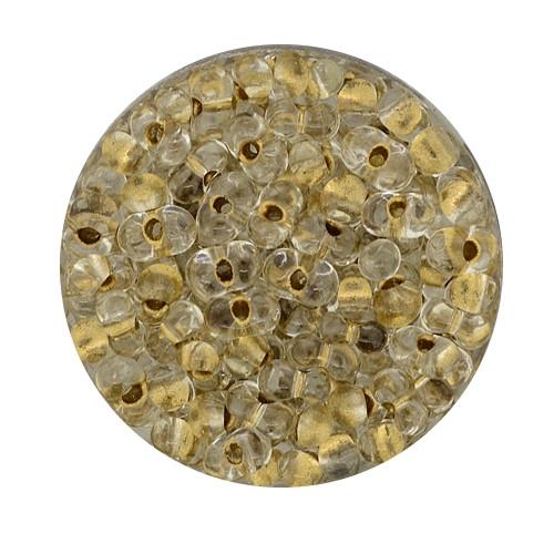 Farfalle, Silbereinzug, 6,5mm, 17gr Dose, kristall-bronze