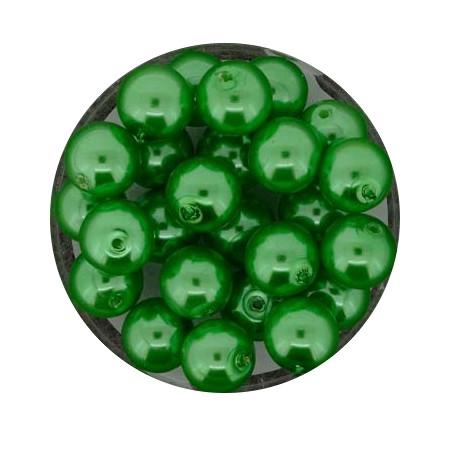 Pearl Renaissance, 8mm, 25 Stück, mai grün