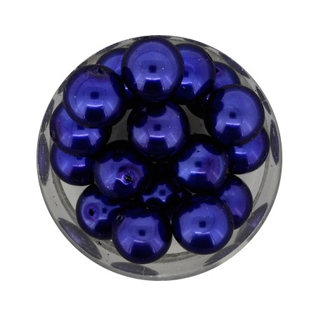 Pearl Renaissance, 10mm, 20 Stück, dunkelblau