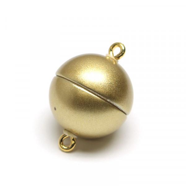 Power-Magnetverschluss, 15 mm, gold matt
