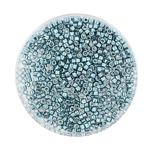 Miyuki Delicas, 11/0 (2,0mm), 4gr. Dose,turquoise metallic