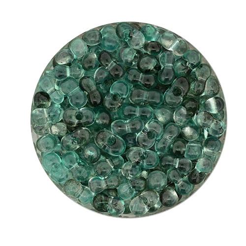Farfalle, Zwei-Ton, 6,5mm, 10gr Dose, grün-blau
