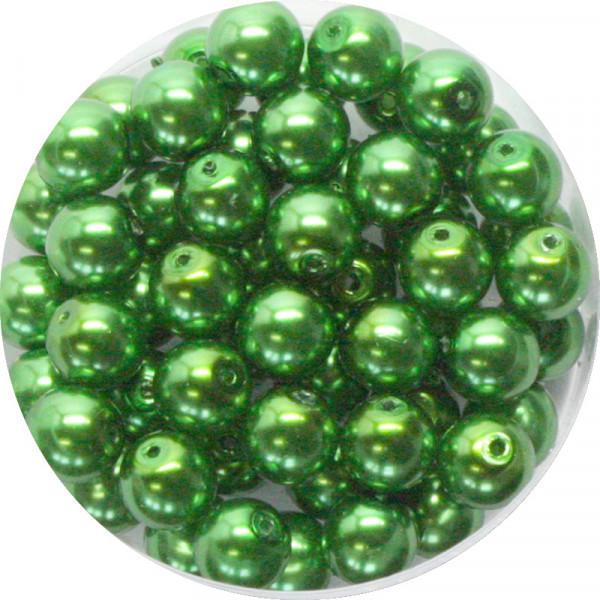 Pearl Renaissance, 6mm, 55 Stück, grün