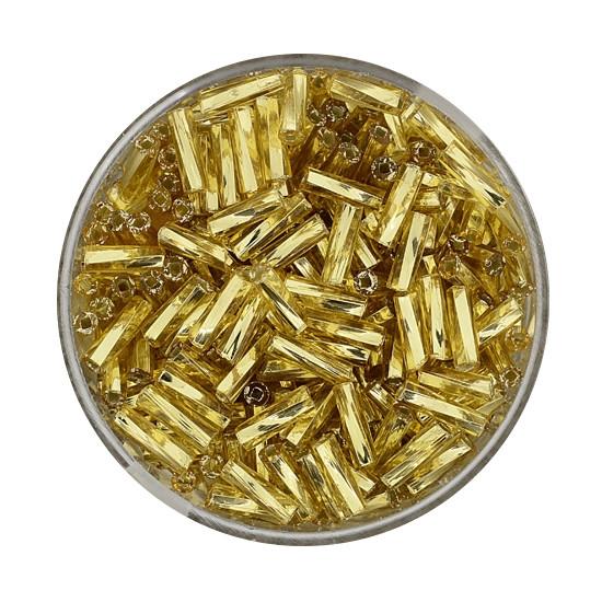 Glasstift, Twisted, 6 mm, 17gr. Dose, gold