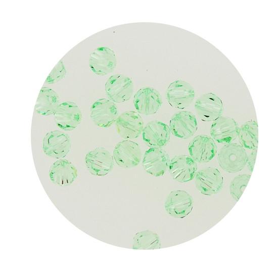 Swarovski Glasperlen, 6 mm, 5 Stück, chrysolite