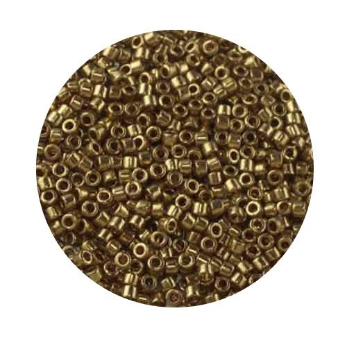 Miyuki Delicas, 11/0 (2,0mm), 5gr. Dose,light bronze