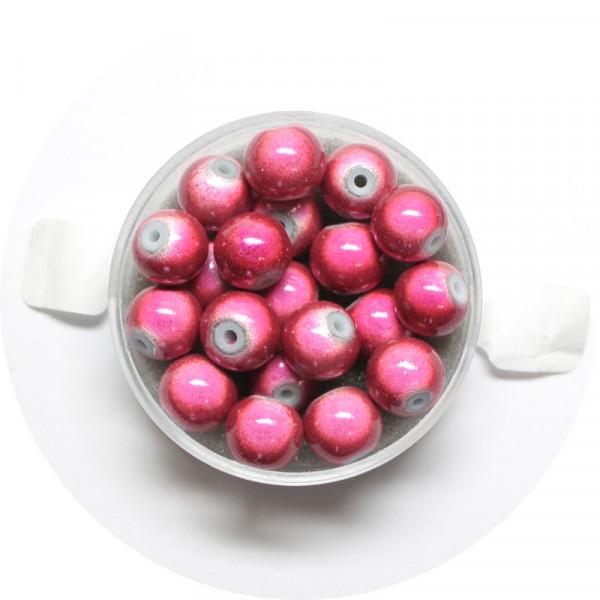 Miracle-Beads Glasperlen, 20 Stck., 8mm, altrosa