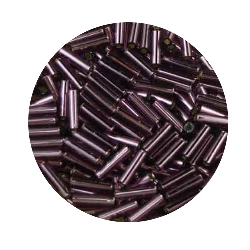 Miyuki-Stifte, 6mm, 10gr. Dose,silverlined dark lilac