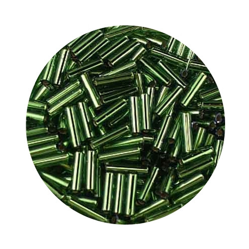 Miyuki-Stifte, 6mm, 10gr. Dose,silverlined light green