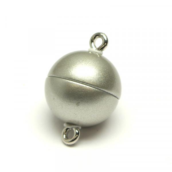 Power-Magnetverschluss, 12 mm, edelstahl matt