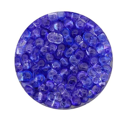 Farfalle, Zwei-Ton, 6,5mm, 10gr Dose, blau-lila