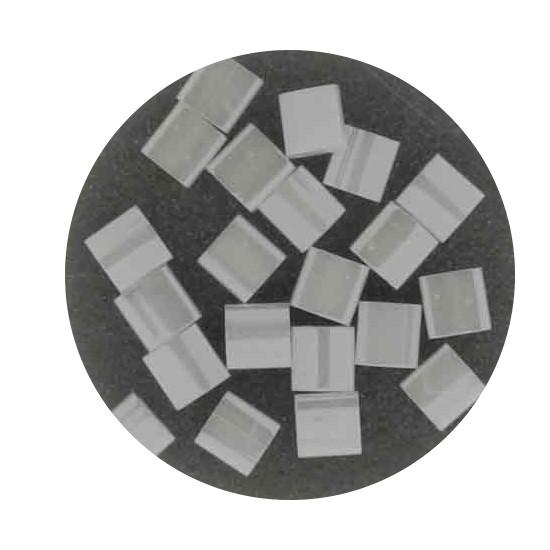 Tila-Beads, 2-loch Viereck, 6gr. Dose,rainbow transparent