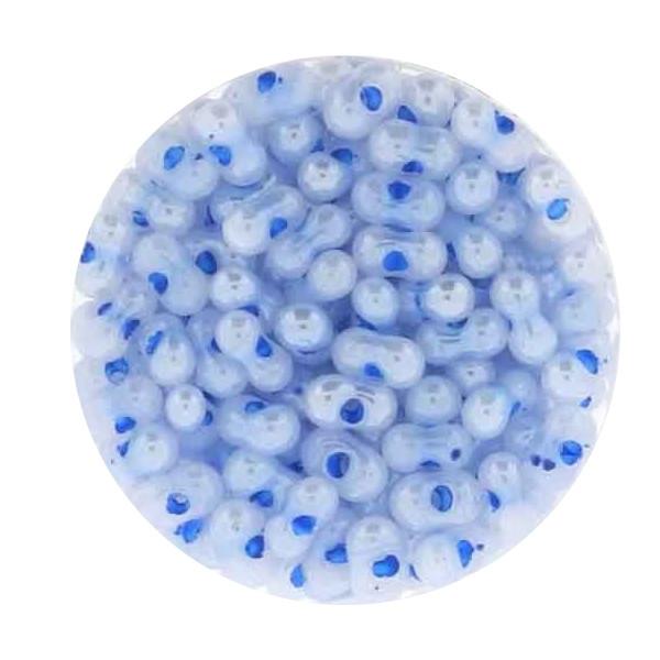 Farfalle, Wachs, 6,5mm, 17gr Dose, wachs-blau