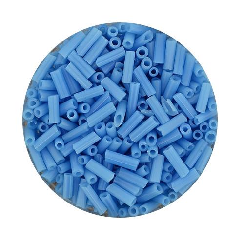 Glasstift, Satt, 6 mm, 17gr. Dose, hellblau