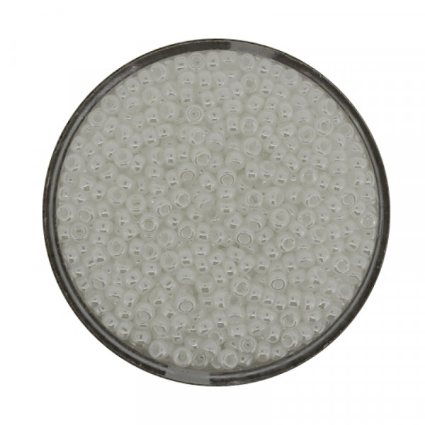 Miyuki Rocailles 2,2 mm - pearl white