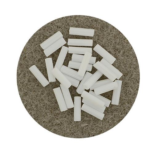 Glasstift, Satt, 6 mm, 17gr. Dose, weiß