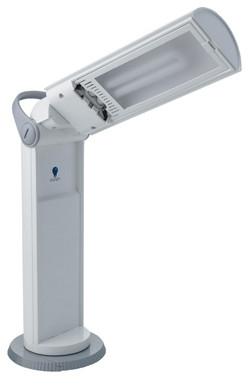 "Daylight Tragbare Lampe ""Twist"", weiss"