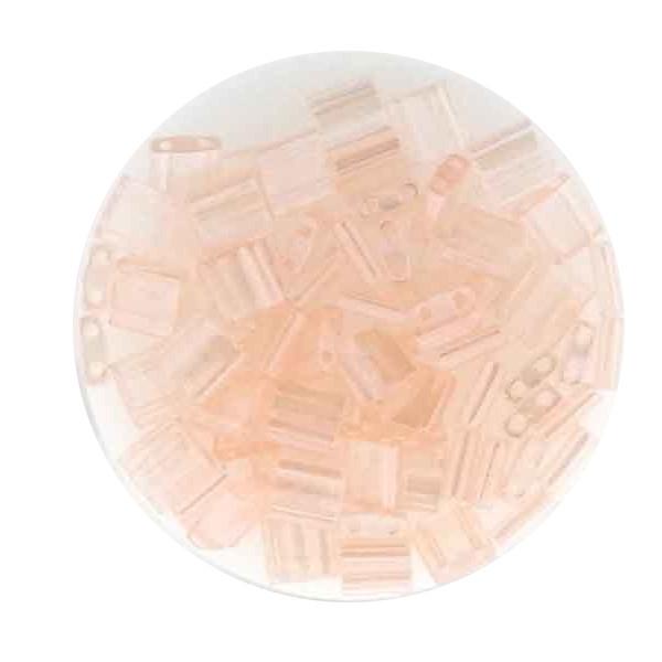 Tila-Beads, 2-loch Viereck, 6gr. Dose, rose