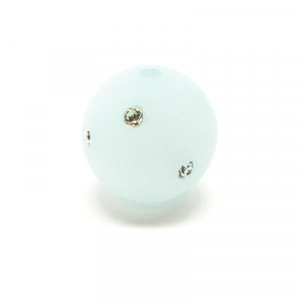 Polaris Strassperlen, 10mm, hellblau