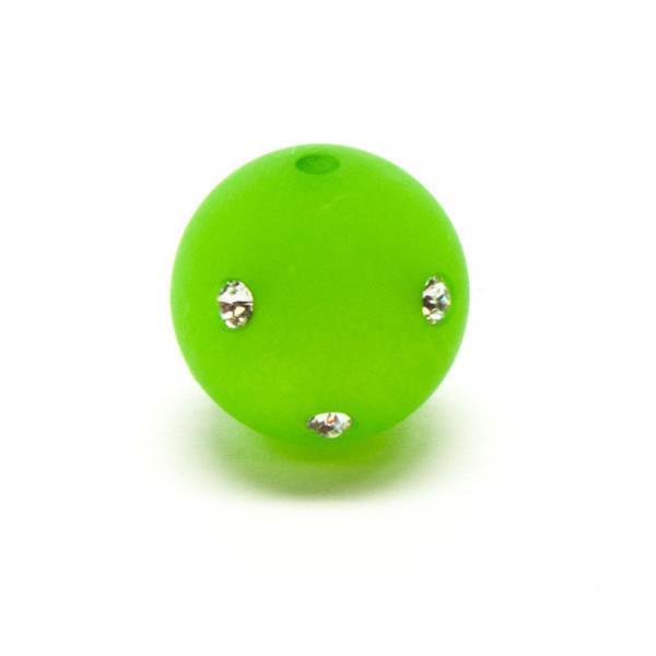 Polaris Strassperlen, 10mm, hellgrün