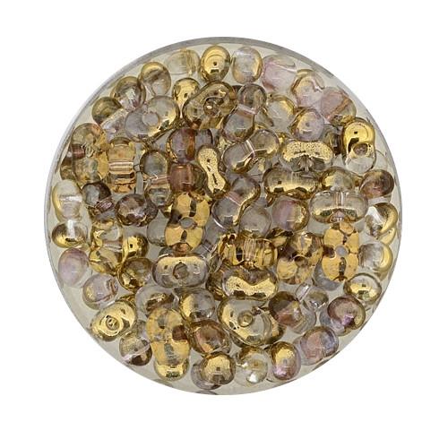 Farfalle, Silbereinzug, 6,5mm, 17gr Dose, kristall-kupfer