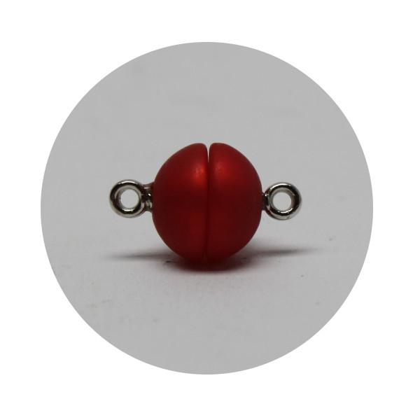 polaris magnetverschluss kugel 12mm rot schmuckperlen. Black Bedroom Furniture Sets. Home Design Ideas