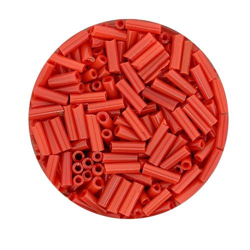 Glasstift, Satt, 6 mm, 17gr. Dose, rot