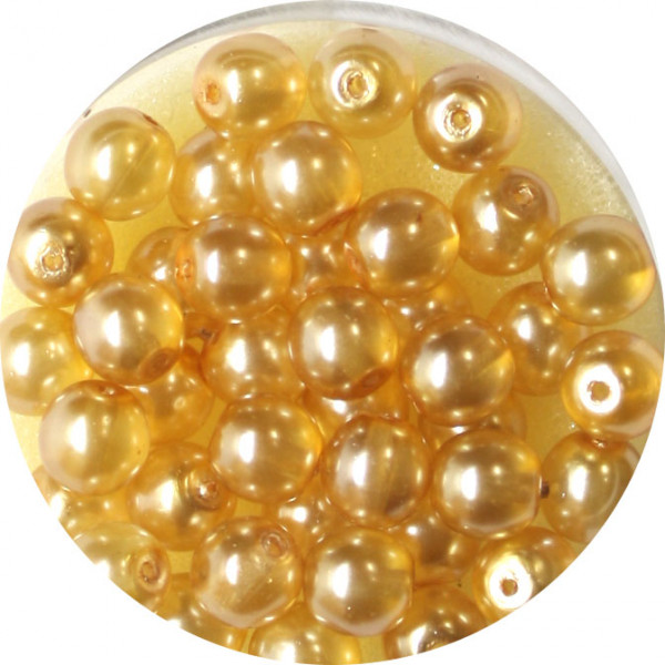 Crystal Pearl Renaissance, 6mm, 40 Stück, beige
