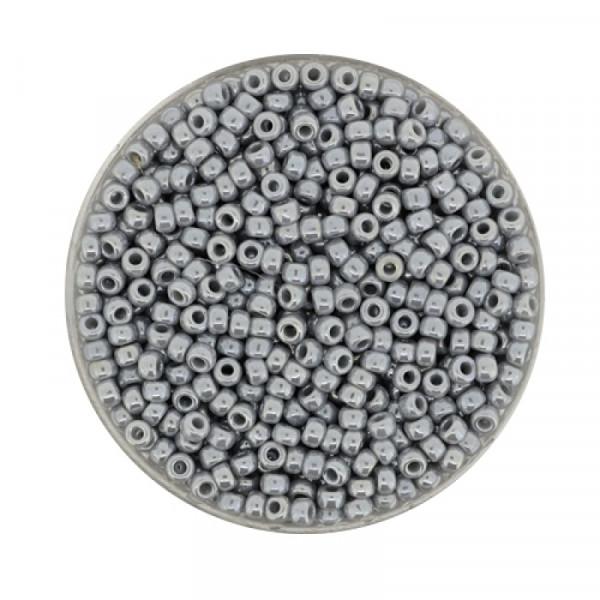 Miyuki Rocailles 2,2 mm - pearl grey