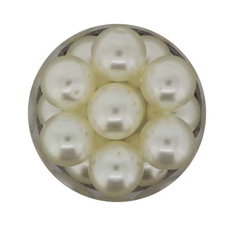 Pearl Renaissance, 12mm, 14 Stück, weiß