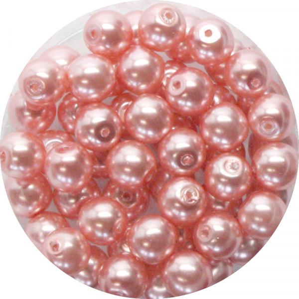 Pearl Renaissance, 6mm, 55 Stück, rose