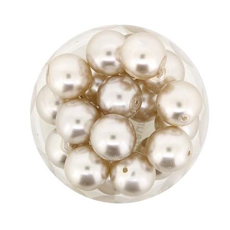 Pearl Renaissance, 10mm, 20 Stück, hellbraun