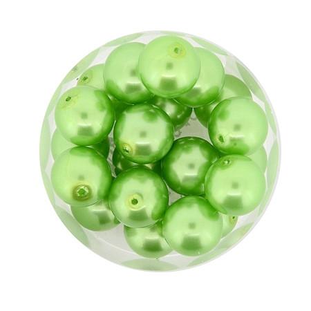 Pearl Renaissance, 10mm, 20 Stück, mai grün