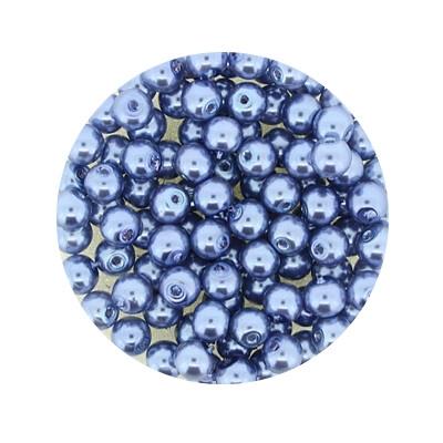 Pearl Renaissance, 4mm, 100 Stück, hellblau