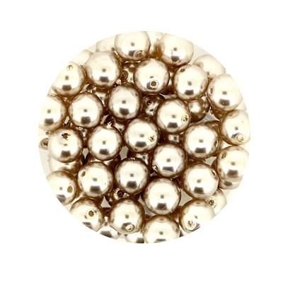 Pearl Renaissance, 6mm, 55 Stück, hellbraun